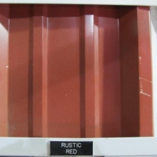 Rustic Red Sheet Metal Color Siding Metal Building Component New Orleans Louisiana