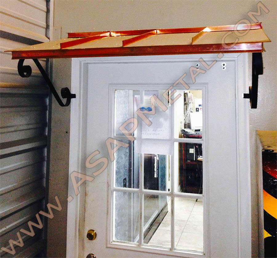 of door out copper your awning keep metal rain home awnings window blog
